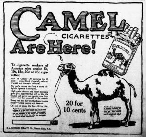 Old Cigarette Ads | Camels Are Coming | Ad 4 of 4