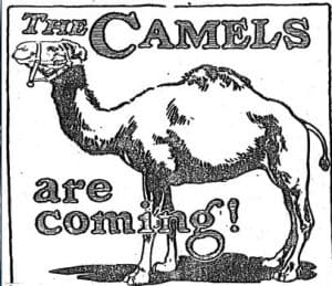 Old Cigarette Ads | Camels Are Coming | Ad 2 of 4