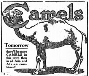 Old Cigarette Ads | Camels Are Coming | Ad 3 of 4
